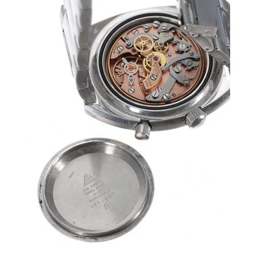 7 - Omega Seamaster Chronostop stainless steel gentleman's wristwatch, ref. 145.007, serial no. 27050xxx...