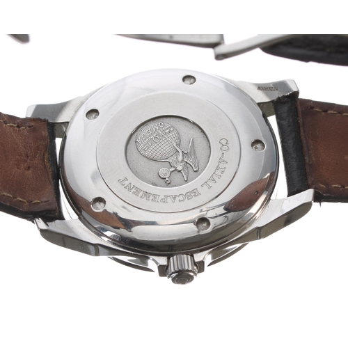 11 - Omega De Ville Co-Axial Chronometer stainless steel gentleman's wristwatch, ref. 168.1700, serial no...