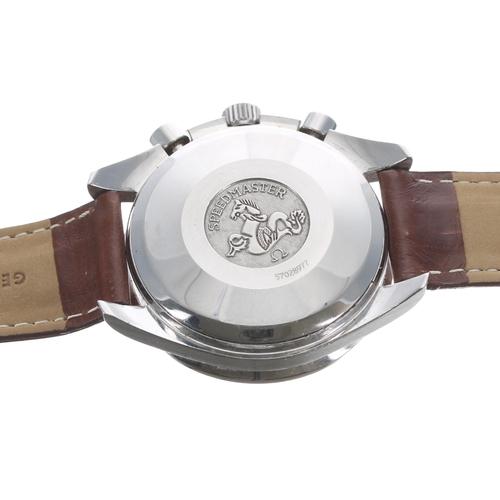 12 - Omega Speedmaster chronograph automatic stainless steel gentleman's wristwatch,ref. 175.0083, seria...