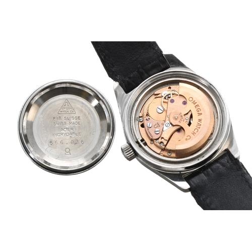 14 - Omega Genéve automatic stainless steel lady's wristwatch, ref. 566.036, serial no. 38298xxx, circa 1...