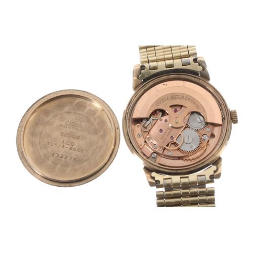 24 - Omega Seamaster automatic 9ct gentleman's wristwatch, ref. 165/6-5003, serial no. 2300xxxx, circa 19...