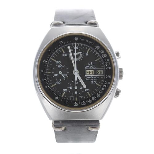 29 - Omega Speedmaster chronograph 4.5 automatic stainless steel gentleman's wristwatch,ref. 176.0012, s...