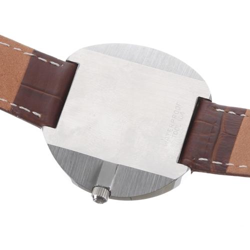 37 - Omega De Ville automatic stainless steel gentleman's wristwatch, ref. 166.094, serial no. 33138xxx, ...