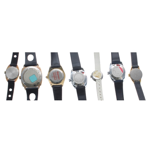 508 - Selection of ladies wristwatches to include Electra, Camy, two Lanco automatic, Orano, Gigandet, Jun...
