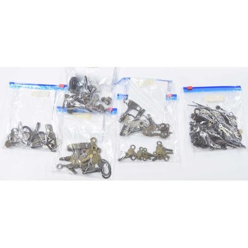 1439 - Collection of old watch keys and clock hands etc
