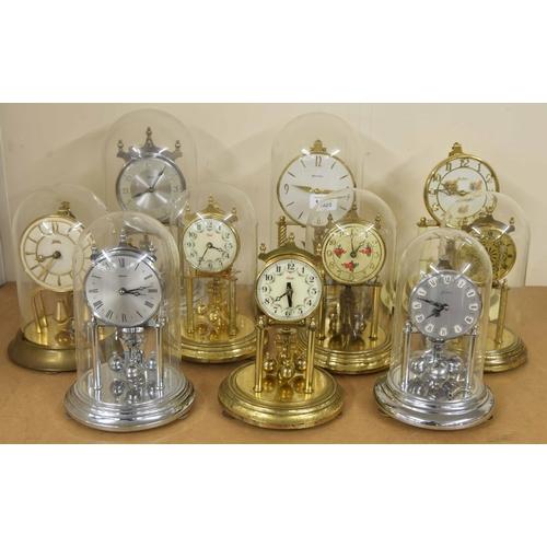 1405 - Two large contemporarytorsion clocks, both 12.5