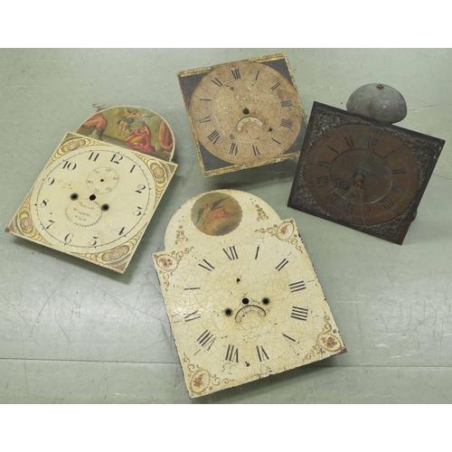 1416 - Thirty hour birdcage longcase clock movement, the 11
