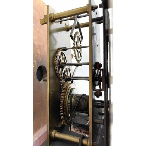 1051 - Rare Scottish Railway regulator wall clock, the 13