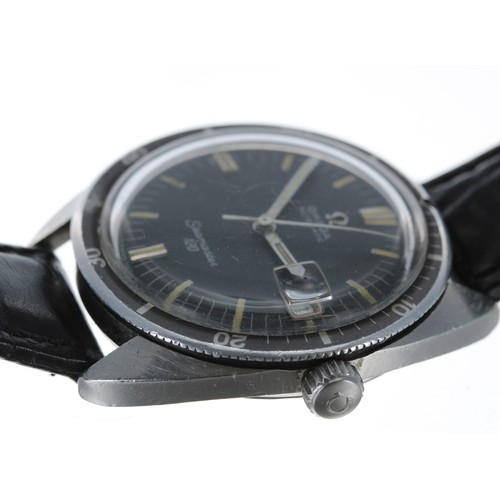 36 - Omega Seamaster 120 diver's automatic stainless steel gentleman's wristwatch, ref. 166.027, serial n...