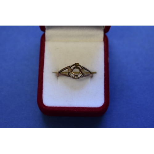 126 - <strong>Seven various 9ct gold gem set rings; </strong>together with a spinel set unmarked ring; and...