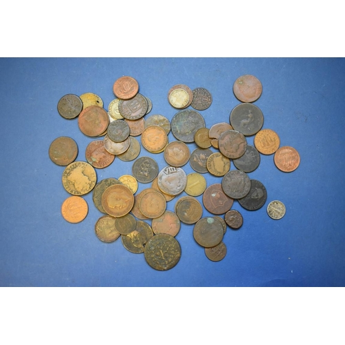 157 - <strong>A small quantity of U.K. and world coins, </strong>mostly 19th century....