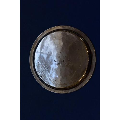 34 - <strong>A George lll Irish silver wine coaster,</strong><em>&nbsp;</em><em>probably Matthew West,&nb...