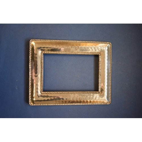48 - <strong>A quantity of silver and silver mounted items, </strong>including a photograph frame....