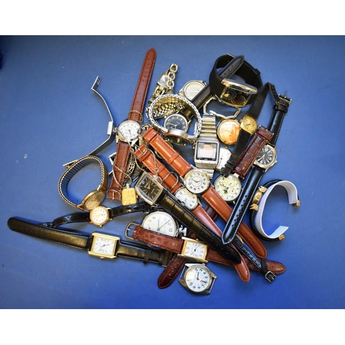71 - <strong>A quantity of modern watches.</strong>...