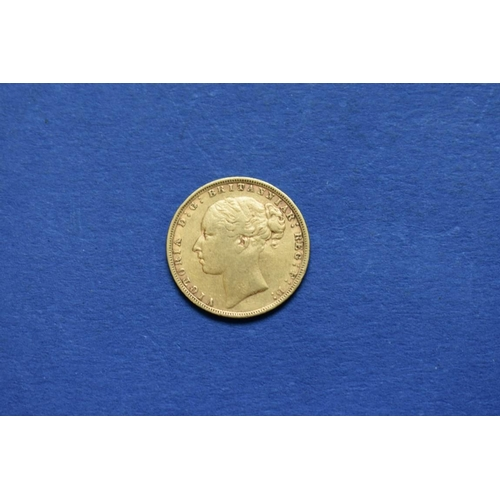 78 - <strong>A Victoria </strong><strong>1894 </strong><strong>gold sovereign.</strong>...