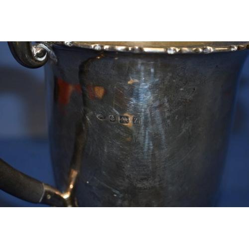 6 - A silver teapot,by Adie Bros Ltd,Birmingham 1924, 351g.