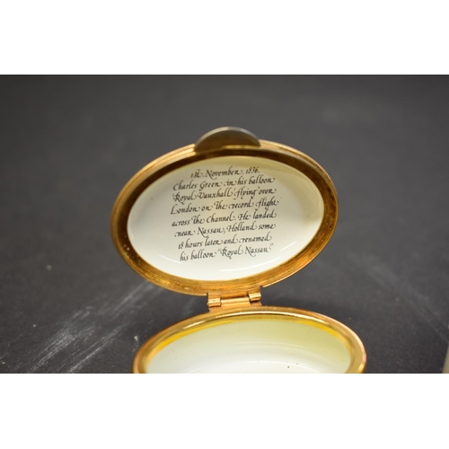 45 - <strong>*WITHDRAWN FROM SALE* A lipstick and mirror holder having cabochon coral button</strong>; to...