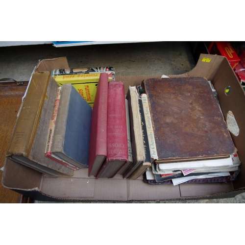 1195 - <strong>A mixed lot of books and ephemera.</strong>...
