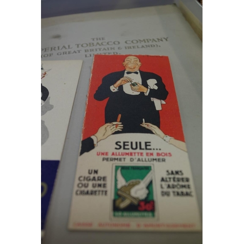 1248 - <strong>Tobacciana:</strong>a small collection of misc. ephemera and advertising material rela...