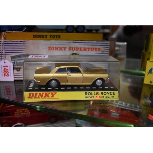 1483 - <strong>A Dinky 127 Rolls-Royce Silver Cloud Mk.III. </strong>...