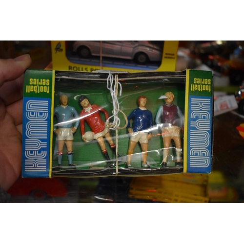 1485 - <strong>A 1970s Keymen Football Series 'Famous Four' diecast boxed set.</strong>...