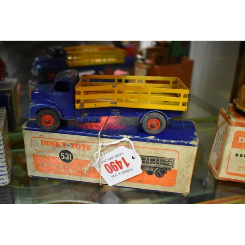 1490 - <strong>A Dinky 531 Leyland Comet lorry, </strong>boxed....