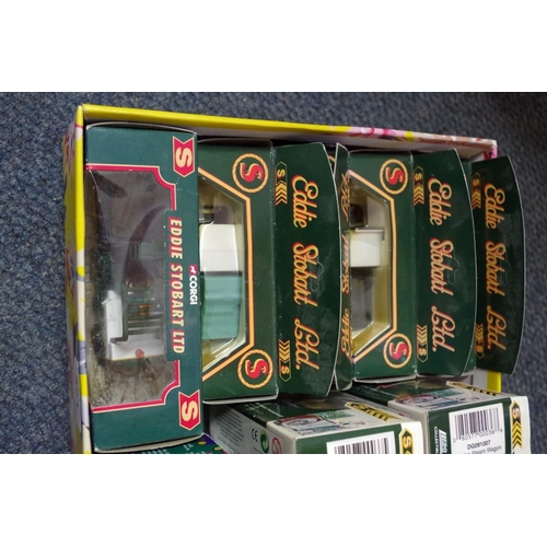 1600 - A large collection of boxed diecast vehicles,to include: a Dinky Motorway Services Ford Transi...