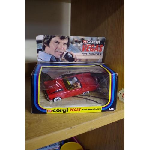 1597 - A Corgi 348 'Vegas' Ford Thunderbird,in box.