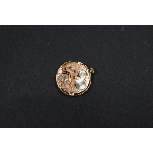 177 - <strong>An Omega ladies 9ct gold manual wristwatch,</strong> Birmingham 1965, cal 620, movement...