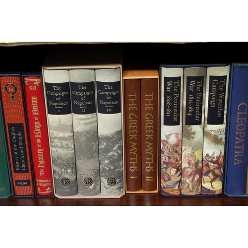 1617 - <strong>Books:</strong> a collection of sixty-nine Folio Society publications, in slipcases; to...