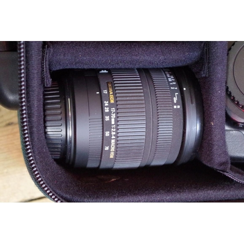 1685 - <strong>Cameras:</strong>a Canon EOS5 body; and EOS33 body; and three lenses to include two Si...