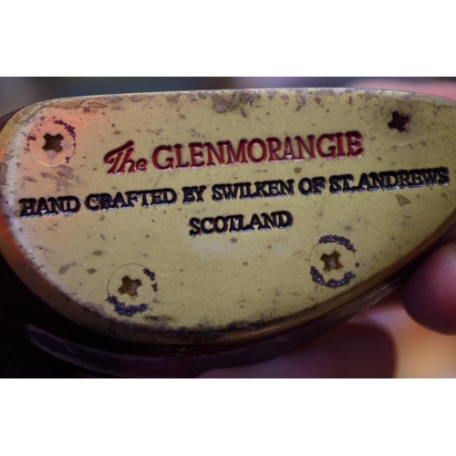 648 - <strong>A Glenmorangie presentation golf putter, </strong>by Swilken of St Andrews, boxed....