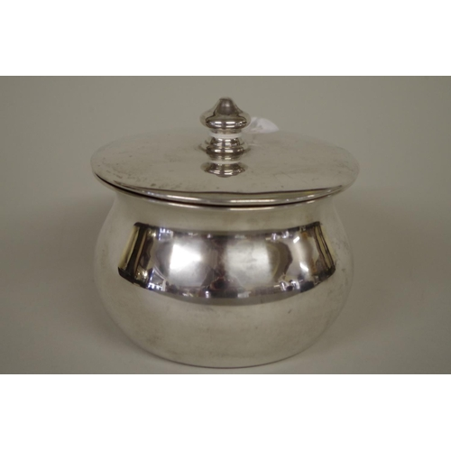 11 - <strong>A silver covered bowl,</strong> <em>by Charles Boyton & Sons,</em> London 1921...