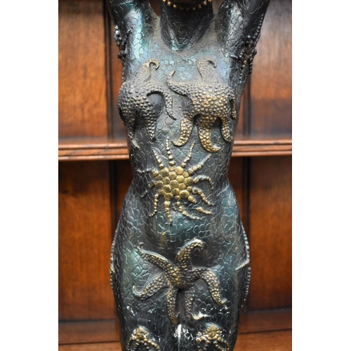 1116 - <strong>After Demetre Chiparus,</strong> 'Starfish Dancer', bronze, 108cm high....