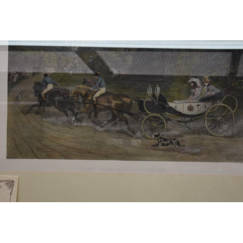 1122 - <strong>After S E Waller,</strong> 'Home from the Honeymoon', engraving, I.46 x 76cm, with certifica...