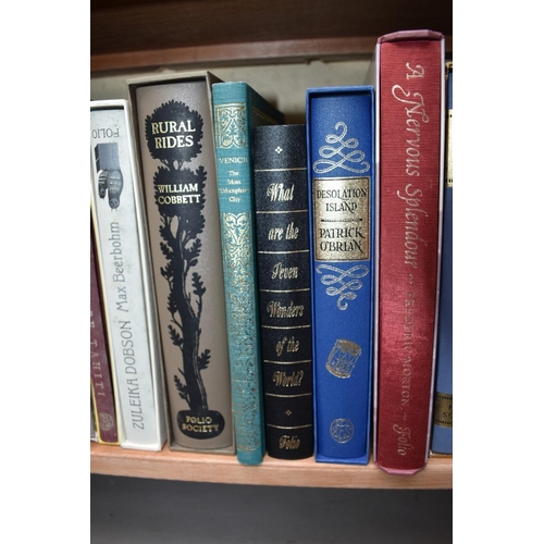 1137 - <strong>Books:</strong> twenty Folio Society publications; together with two further books....