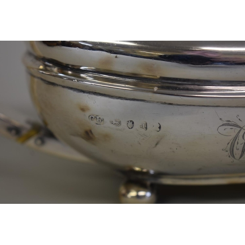 11 - <strong>A George lll silver teapot,</strong> <em>by Charles Fox, </em>London 1776, 635g all in....