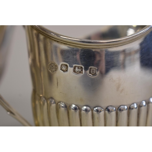 8 - <strong>A Victorian Queen Anne style</strong><strong>silver bachelor's</strong><strong></strong><s...
