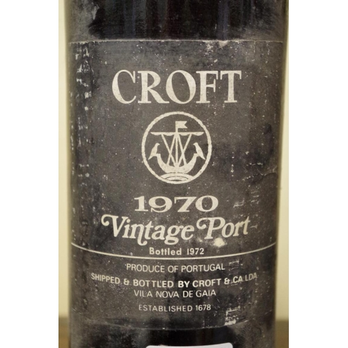 500 - <strong>Two 75cl bottles of Croft 1970 vintage port. </strong>(2)...
