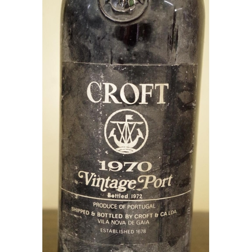 502 - <strong>Two 75cl bottles of Croft 1970 vintage port.</strong> (2)...