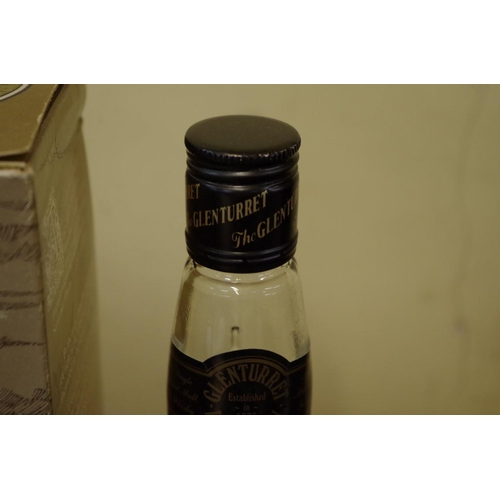 511 - <strong>A 75cl bottle of The Glenturret 12 year old whisky,</strong> 1980s bottling, in card box....