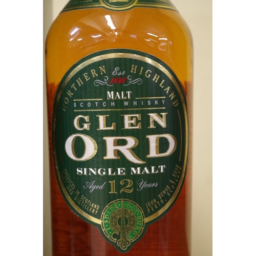 513 - <strong>A 70cl bottle of Glen Ord 12 year old whisky,</strong> in card box....