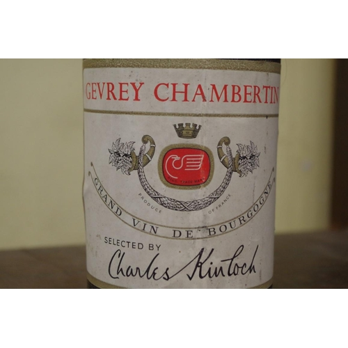 517 - <strong>A bottle of Gevrey Chambertin 1961,</strong> Charles Kinloch....