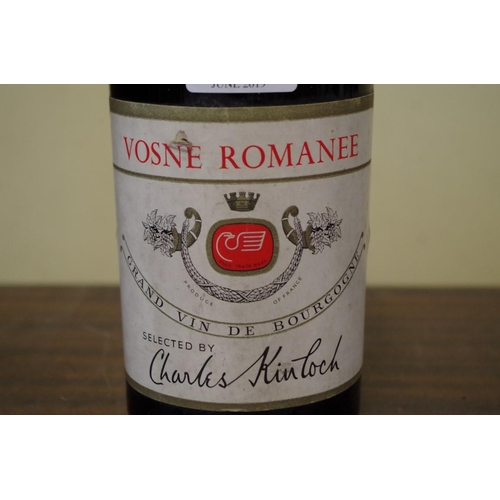 519 - <strong>A bottle of Vosne Romanee 1959</strong>, Charles Kinloch....