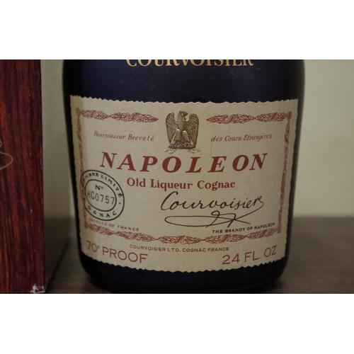 525 - <strong>A 24 fl.oz bottle of Courvoisier Napoleon Old Liqueur cognac,</strong> 1960s bottling, No. H...