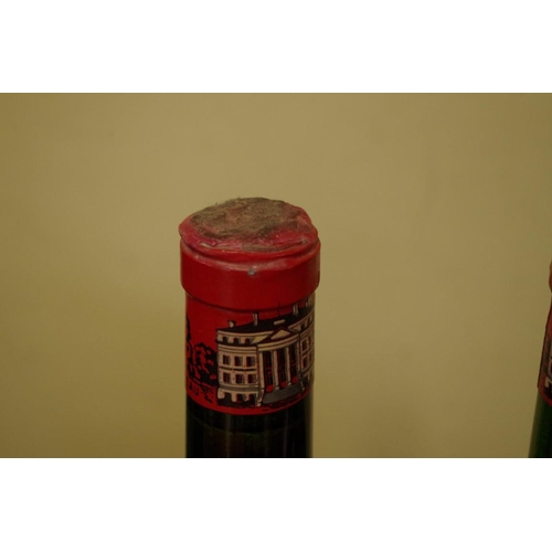 544 - <strong>Four 75cl bottles of Chateau Margeaux 1967</strong>. (4)...