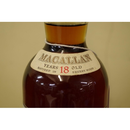579 - <strong>A 75cl bottle of The Macallan 1968 18 year old whisky,</strong> bottled in 1987, 43% abv....