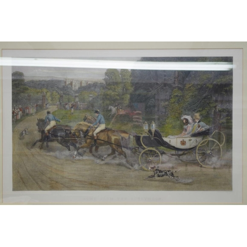 1222 - <strong>After S E Waller,</strong> 'Home from the Honeymoon', engraving, I.46 x 76cm, with certifica...