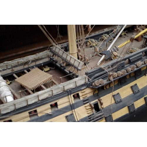 1226 - <strong>A model of HMS Victory. </strong>...