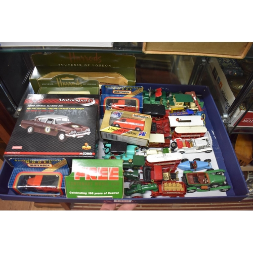 1460 - <strong>A collection of diecast vehicles,</strong>some boxed....